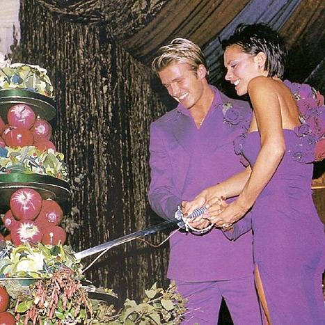 realmomster beckhams wedding