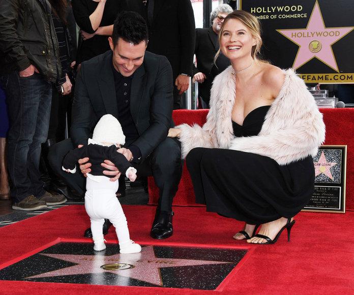 realmomster adamlevine hollywood walk of fame