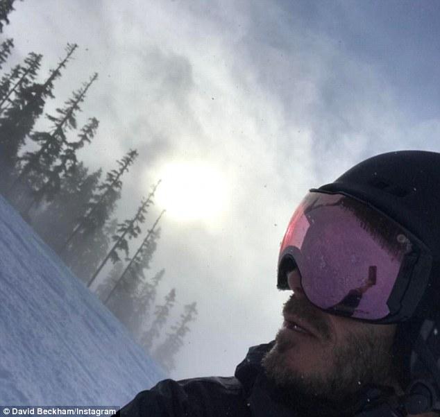 realmomster beckham ski holiday