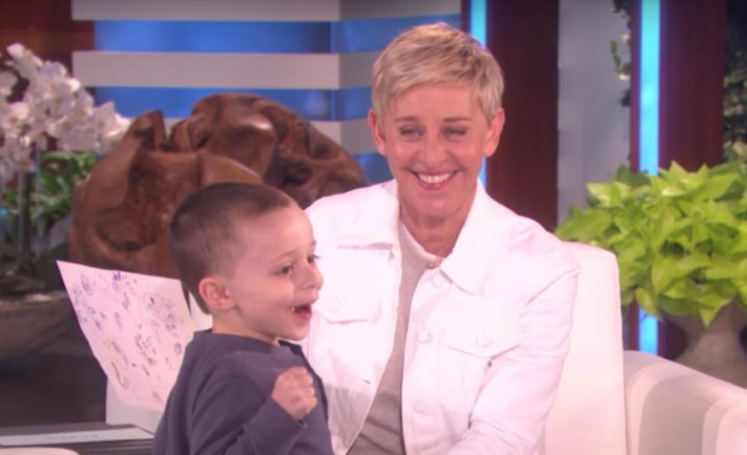 Five-Year Old Genius Surprises Ellen DeGeneres with a Trump Hint