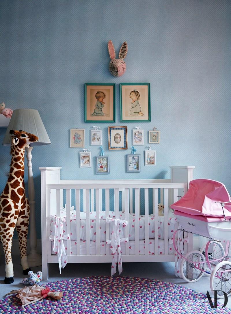 realmomster nicky hilton nursery baby
