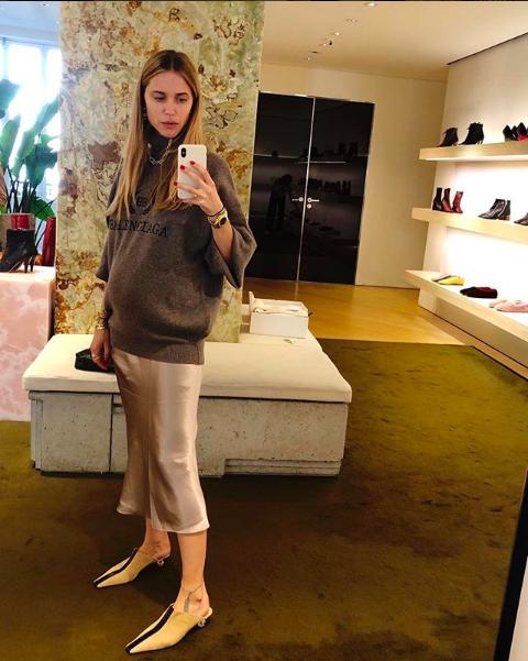 realmomster Pernille Teisbaek pregnancy style