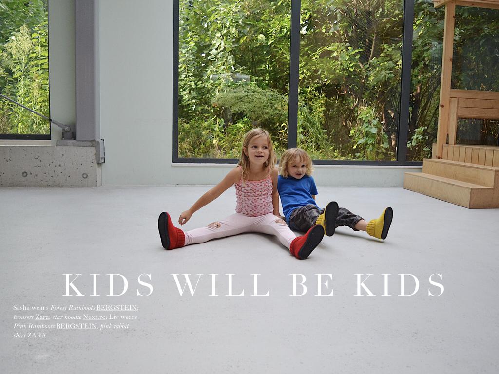 Realmomster Bergstein Footwear Rainboots Kids