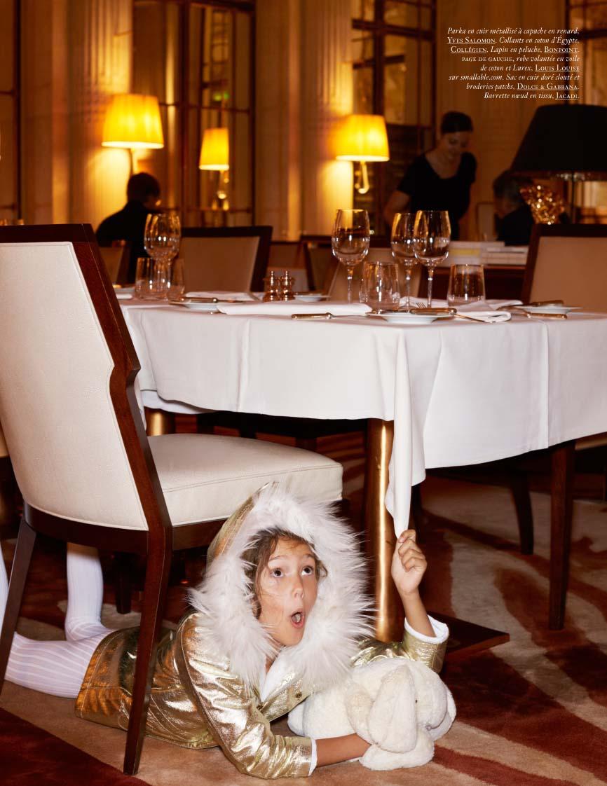Realmomster Vogue Enfants Editorial Ritz