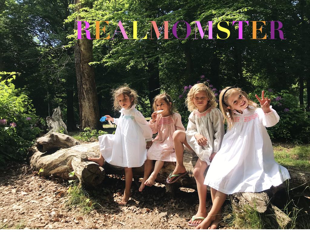 REALMOMSTER SMOCK LONDON FEISTY GIRLS