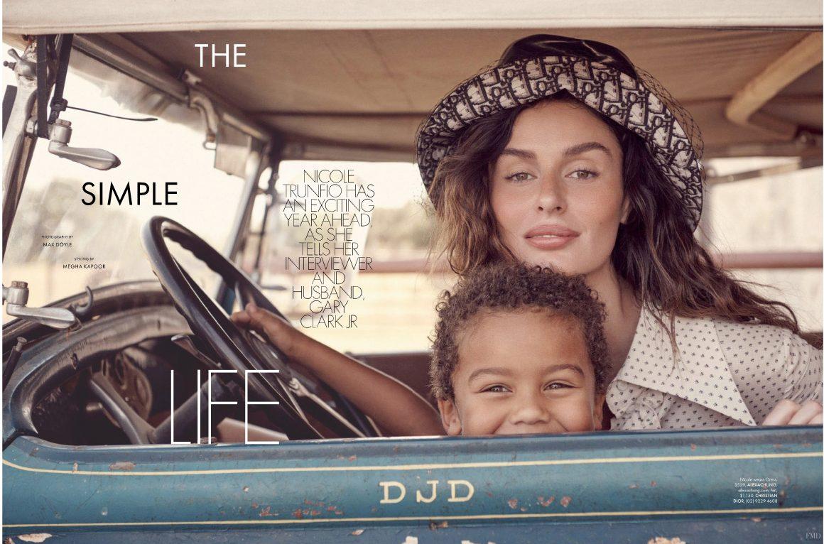 Realmomster Editorials Nicole Trunfio Elle Australia